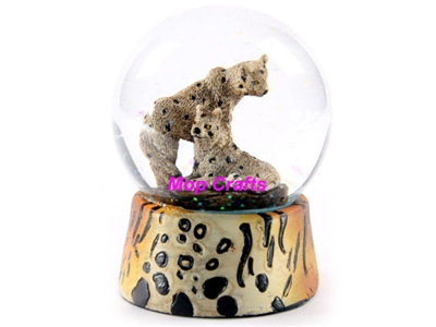Polyresin Animal Snow Globe Water Ball Crafts Gifts