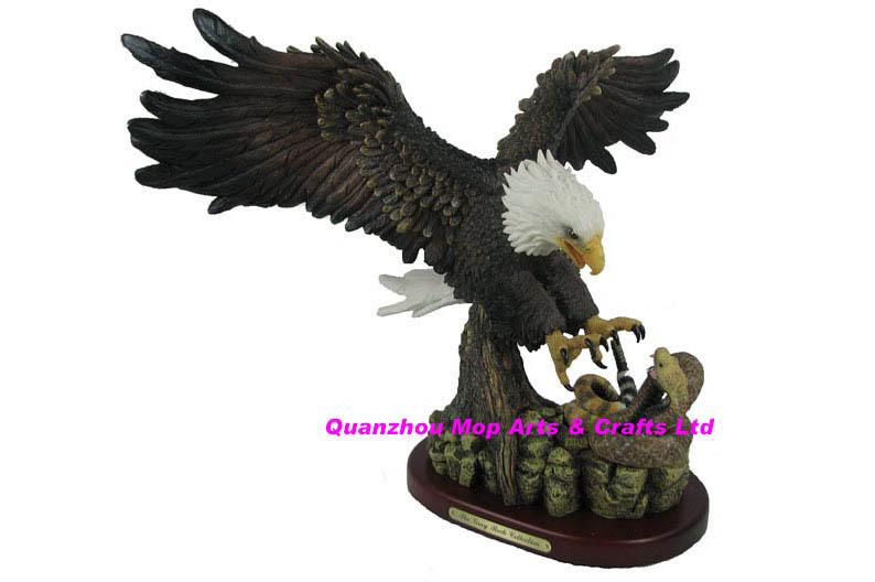 Polyresin Eagle Statue Resin Eagle Figures